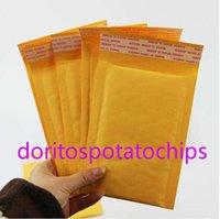 100pcs Many Sizes Yellow Kraft Bubble Mailing Envelope Bags Mailers Padded Empty 51