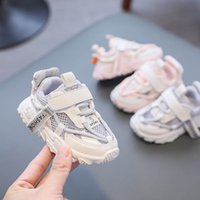 Infant Athletic Kids Shoes Baby Sneakers Boys Footwear Childrens Girls Casual Moccasins Soft Spring Autumn Toddler Running Shoe B7686