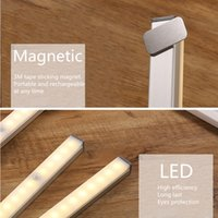 Lamp With Motion Sensor Wardrobe Rechargeable Light Led Lighting Stairs Magnet Under Cabinet USB Closet Magnetic Night Lantern