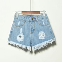 jeans yiwo grasso mm180kg, nappa buca, ee ruvida, pantaloncini in denim grande, ragazza estiva