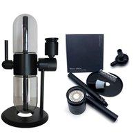 2 PCS Stundenglass Gravity Bong Electronic Cigarettes Starter Kits Water Smoking Pipe Hookah DHL Fast Delivery