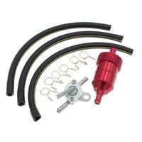 Assemblaggio del tubo del tubo del tubo della benzina del filtro dell'olio del gas del carburante per le parti del motociclo della bici della fossa della moto