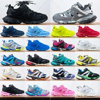 2021 New Paris Track 3.0 casual shoes Clunky Runner Sneakers Black White Pink Grey Update Version Designer Sport Triple s balencaiga Sneaker Size36-45