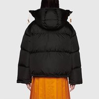 Designer luxury Women Classic Outdoor Down Parkas jackets Co-branding Winter Coat Solid Color Thicken Woman Clothing Keep Warm Windproof Unisex Jacket For Man XS-XL