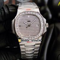 40mm 5711 5719 orologi sportivi 5719/10 cal.324 orologio da uomo automatico Gypsophila quadrante Big quadrato Diamante Braccialetto in acciaio inox ciao_watch