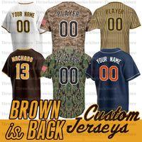 Fernando Tatis JR Jersey Manny Machado Yu Darvish Tony Gwynn Blake Snell Musgrove Eric Hosmer Brown is Back Jerseys