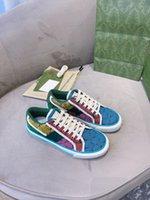 2021 مطابقة اللون عارضة أحذية رجالية والنساء Progettista تنس 1977، مع شبكة القطن Luxueux Fashion Fashion Boy Sneakers