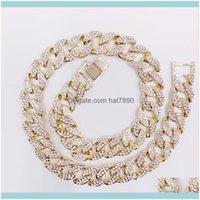 & Pendants Jewelryfashion Chain Necklace For Men Cuban Chains Cadena Hombre Hip Hop Miami Zinc Alloy Chocker Necklaces Lxl00001 Drop Deliver