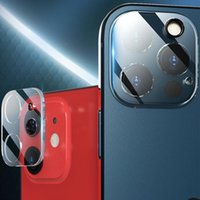 3D Transparent Back Camera Lens Tempered Glass Protectors Screen Protector Anti-Scratch For iPhone 13 Pro Max 12 Mini 11 Cell Phone
