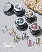 Nail Gel Gold Rose Silver Mirror Metallic Creat 3D Draw Led Art Beauty Salon Supplies Paint Lacquer Glue UV Polish
