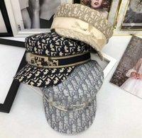 럭셔리 야외 모자 여성 디자이너 Berets Cap 크리스마스 선물 태양 모자 패션 아이템 봄 가을 겨울 액세서리