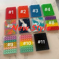 DHL 2021 New Notebook A5 A6 Its Favor Push up Finger Bubble Silicone Cover Notepad Student Supplies Decompression Fidget Toys Rainbow Colorful Party Favor