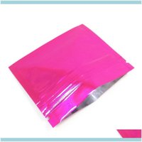 Bags Packing Office School Business & Industrial100Pcs Lot 7.56Cm Mini Size 11 Colors Aluminum Zip Lock Package Bag Candy Snack Mylar Foil H