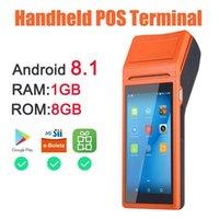Printers PDA Android Bluetooth Thermal Receipt Printer 3G WiFi Mobile Order Terminal Handheld 8.1 Free APP Loyverse