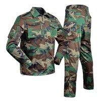 Охотничьи наборы Хан Дикая форма военный мультикам камуфляж тактический костюм для рыбалки одежда мужчины женщин боевой камуфлячок Ghillie