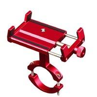 Aluminiumlegierung Motorrad Fahrrad Telefonhalter für 11 Standstütze Telefon Moto GPS-Fahrrad-Lenker Zellhalterung Inhaber