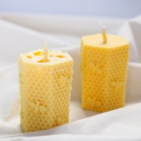 Cute 3d Bee Silicone Mold Handmade Soaps Wax Candles Resin Candle Making Kit Supplies Kke3487