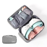 Travel Storage Dividers Box Bag Bra Underware Drawer Organizers Clothing Wardrobe Socks Briefs Cloth Case Accessories Supplies Cosmetic Bags