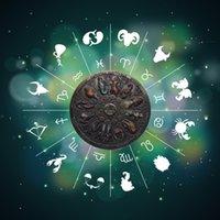 2021 Yeni 12 Takımyıldızı Zodyak Gümüş Paraları Hatıra Şanslı Love Elizabeth II Euro Astroloji Seyahat Hediyelik Eşya Hediyeler