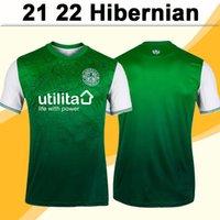 21 22 Hiberniano Newell Murphy Mens Futebol Jerseys Nisbet Magennis Boyle Doient Hanlon Hanlon Away Futebol Shirts Uniformes de Manga Curta