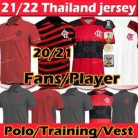 Jogador Versão Flamengo Futebol Jerseys 2021 2022 Diego Gabriel Gabi Camisa de Futebol E.Ribeiro Gerson B.Henrique 21 22 Camisas de futebol