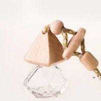 Favor de fiesta de alta calidad Difusor de perfume Botella de 5ml Caballo de aire CAP DE AIRE CAP DE MADERA OWEE6199