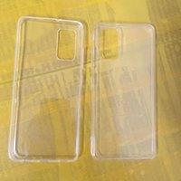 1.0mm Klare weiche TPU-Fälle für Samsung Anmerkung 20 Plus S20 Ultra A21S M01 M31 M51 A22 5G A82 F52 Ultradünne Transparente Abdeckungsgehäuse Silikon Kristallrohling dünne Telefonhaut