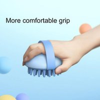 Hair Brushes Pet Brush Silicone Grooming Massage Bath Scrubber Comb Bathing Tool Shampoo