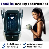 Portable Cellulite Reduction Slimming Instrument Muscle Stimulation Fat Removal High Intensity Electromagnetic Emslim Machines