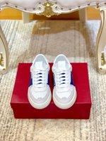 Valentino shoes 2020 homens e mulheres de bezerro VL7N Sneaker Com Marca, lisas enchidas Sapatilhas extragrandes bezerro Trainers 38-44