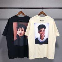 Camiseta A sensação do deus Mainline essenciais Kh20 manga curta dos homens amantes soltos do t-shirt