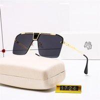 Femmes Hommes Designers Sunglasses Luxurys Alliage Half Cadre Fashion Lunettes UV Preuve UV Preuve de haute qualité Prix en gros Polarisation ZZ 21041407TDQ