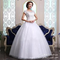 Other Wedding Dresses Classic O Neck Short Sleeve Vintage Dress 2021 Lace Beading Plus Size Custom Made Princess Bridal Ball Gown