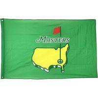 3x5 Masters PGA Golf Sports Flagge, 100% Polyestergewebe doppelseitig Druck 80% blutet, eine Schicht, hängend