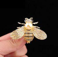 2021 Designer di lusso Designer Donne Pins Pin Spille d'oro argento lettera spilla vestito per partito bel regalo