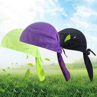 Radfahrenkappen masks fahrrad draußenkappe pirat hut atmungsaktiv stirnband fest farbe schnell trocknende beleuchtung sonnencreme sporthaube 11 farben ä