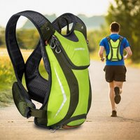 Outdoor Bags Lightweight Multifunctional Running Backpack Professional Waterproof With Reflective Strip Hydration Hiking Adjustable Strap