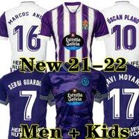 (Con el IVA) Real Valladolid Weissman Soccer Jerseys 2122 Sergi Guardiola Camiseta Marcos André Óscar Plano Fútbol Kit de camisa R.Alcaraz Toni Villa L.OLAZA FEDE S.