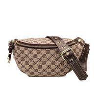 Fashion Waist Bags Mens Crossbody bag Womens Handbag Apricot Cross Letters brown PVC Purse Classic Wallet 20 colors available G1020