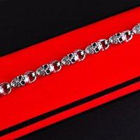 Charm Bracelets Fashion Trend Hip-Hop Skull Bracelet Men Domineering Rock Jewelry Gift
