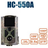 HC-550A Trail Hunting Camera Wildlife Surveillance IR Night Vision Game Infrarouge 1080P 16MP Po Video Trap Cameras