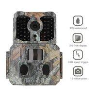 야외 사냥 트레일 카메라 20MP 디지털 야생 동물 탐지기 카메라 방수 모니터링 적외선 캠 야간 비전 PO