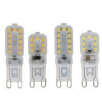 Лампы SMD2835 14/22 LED G9 мозоль лампы 3W 5W 220V легкие энергосберегающие освещения декоративные для гостиной спальня