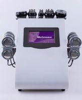 Máquina de RF da cavitação do vácuo com 6 almofadas EMS micro corrente para a perda de peso da remoção do corpo da remoção do peso