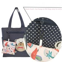 Multifunktions-Shopping-Einkaufstaschen-Taschen Erdbeere faltbare Organizer schöne wiederverwendbare Obst-Gemüse-Tasche 18 Arten DWA4694
