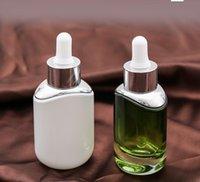 30ml 흰색 녹색 유리 dropper 병 빈 향수 샘플 튜브 에센셜 오일 시약 재충전 병 gwa4637