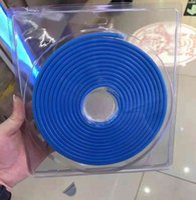 30m / lot 6 * 12mm 8 * 16mm LED-Streifen 12V Neonlicht RGB flexible wasserdichte Diodenband DC Niederspannungsbandlichter 12w / m