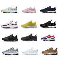 Melhor qualidade 2021 air Air Max Airmax brand new 97 mens mulheres branco Preto 97 s luxo Running Shoes Para Off Run Esportes moda máxima designer de Tênis