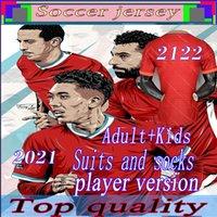20 21 22 Oyuncu Sürüm LVP Futbol Formaları Gerrard Special Edition Smicer Alonso Hamann Barnes KUYT CISSE Yeni 2021 Futbol Gömlek Erkekler + Çocuklar