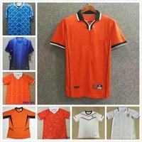 1988 Hollanda Retro Futbol Jersey Van Basten 1997 1998 1994 1990 1992 Hollanda Futbol Gömlek Bergkamp 97 98 12 Gullit Rijkaard Davids